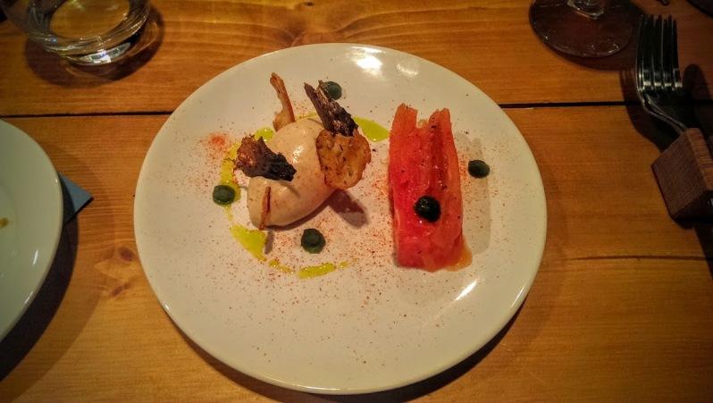 Mackerel parfait, an equisite dish