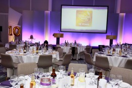 Sussex Food and Drink Awards 2016 at the Amex Stadium.