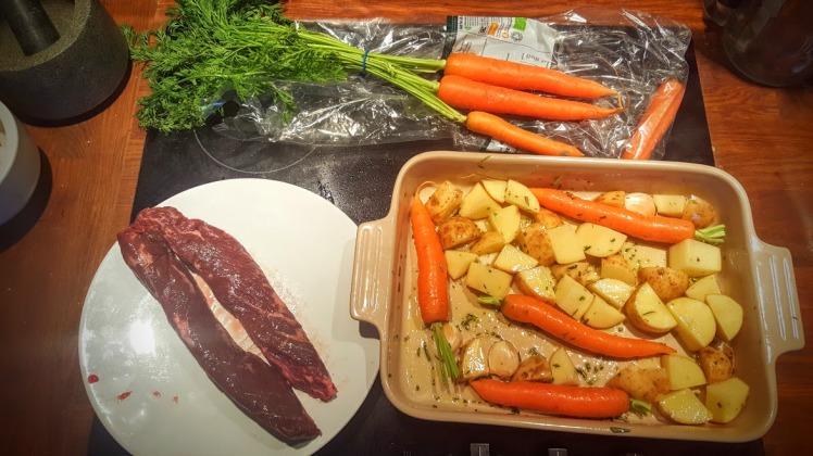 Beef Onglet recipe ingredients