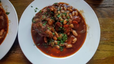 Oxtail Stew with Chorizo